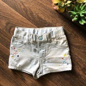 [Genuine Kids by OshKosh] star shorts.